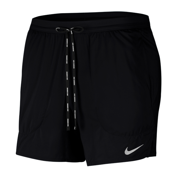 "Nike Men's Flex Stride 5"" Brief Running Shorts Black"