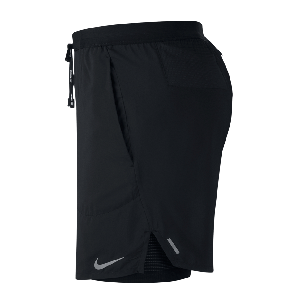 "Nike Men's Flex Stride 7"" 2-In-1 Running Shorts Black"