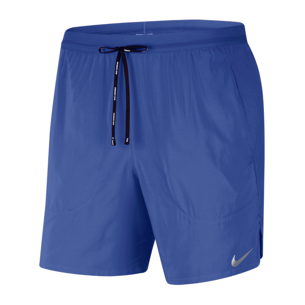 "Nike Men's Flex Stride Men's 7"" 2-In-1 Running Shorts Astronomy Blue"