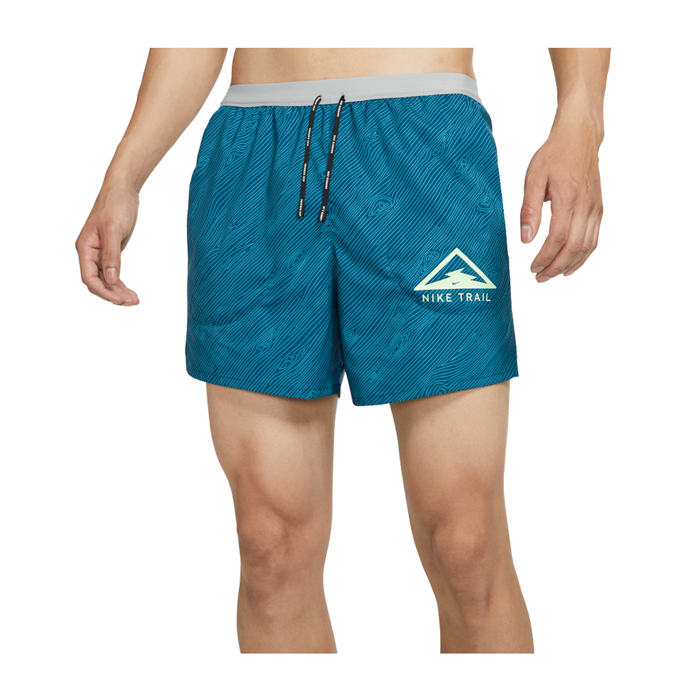 "Nike Men's Flex Stride 5"" Trail Running Shorts Valerian Blue"