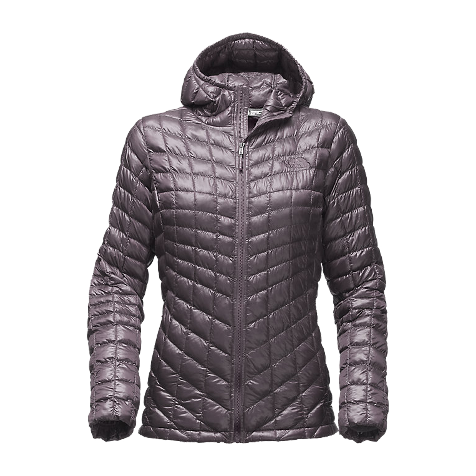 278ed608a942 The North Face Women s Thermoball Hood Jacket Rabbit Grey - Play Stores Inc