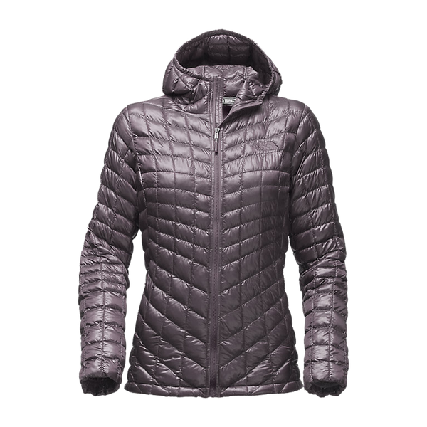 The North Face Women's Thermoball Hood Jacket Rabbit Grey