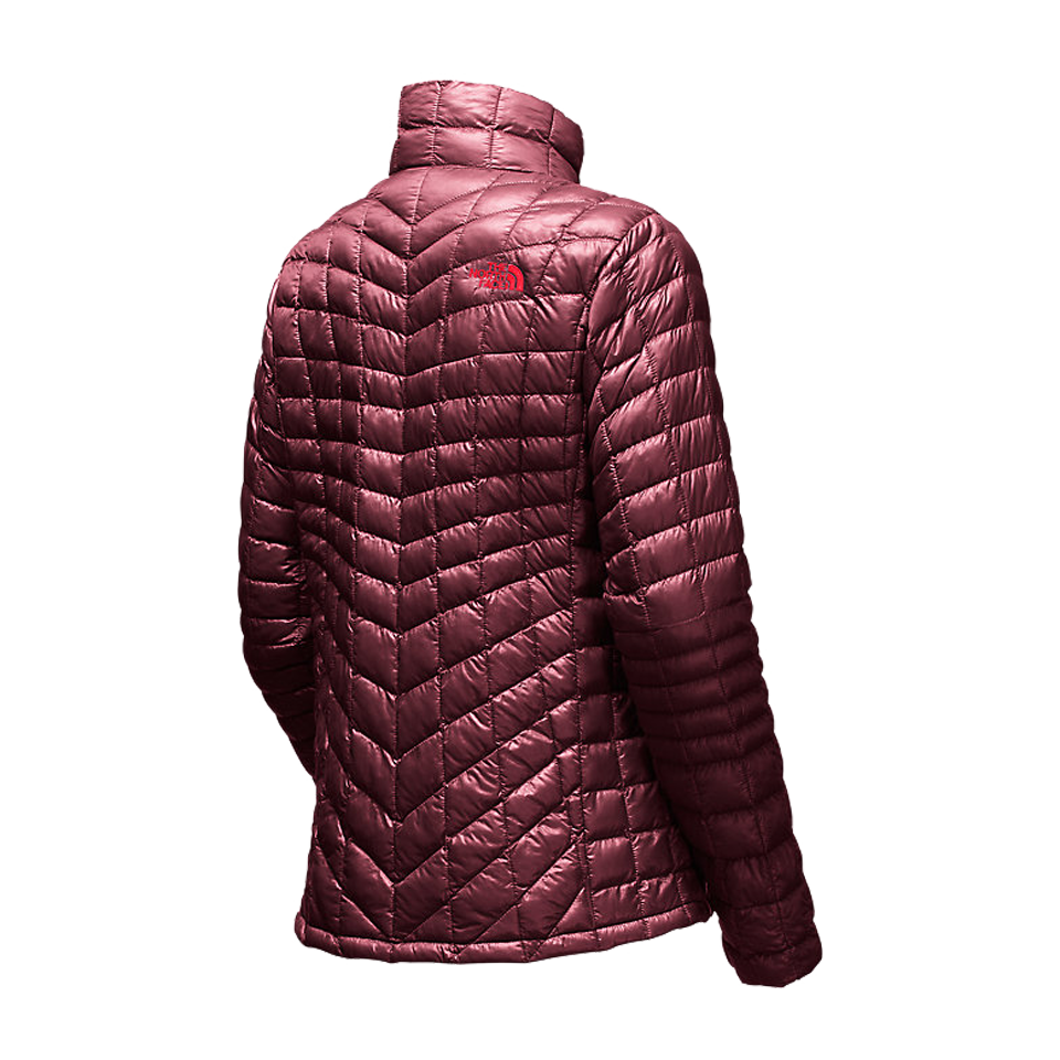 The North Face Women's Thermoball Full Zip Deep Garnet Red