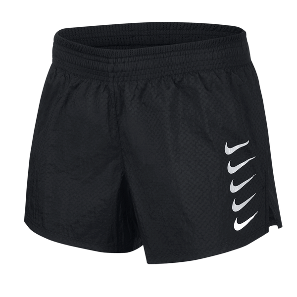 Nike Women's Swoosh Run Running Shorts Black