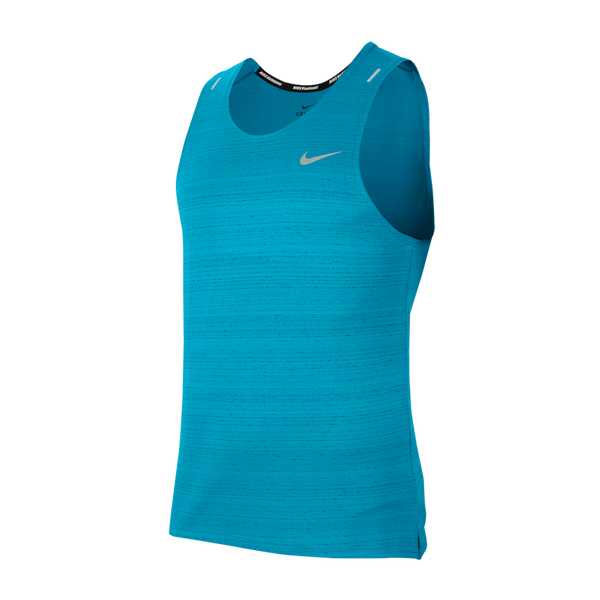 Nike Men's Nike Dri-FIT Miler Running Tank Chlorine Blue