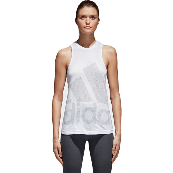 Adidas Women's Logo Cool Tank White