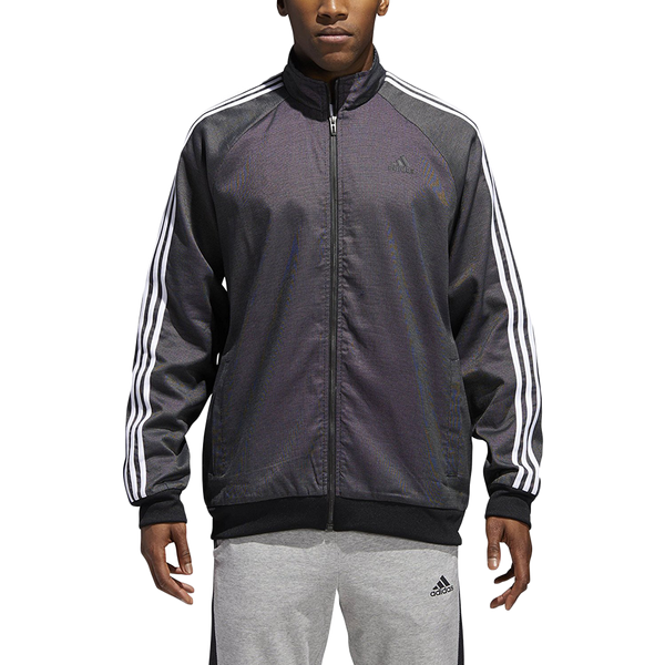 Adidas Men's Essential Woven Jacket Black/White
