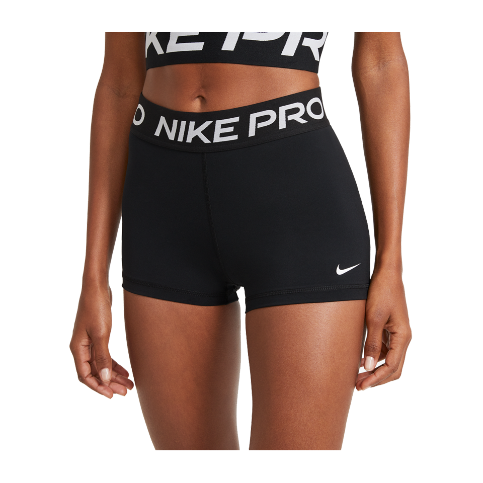 "Nike Women's Nike Pro 3"" Shorts Black"