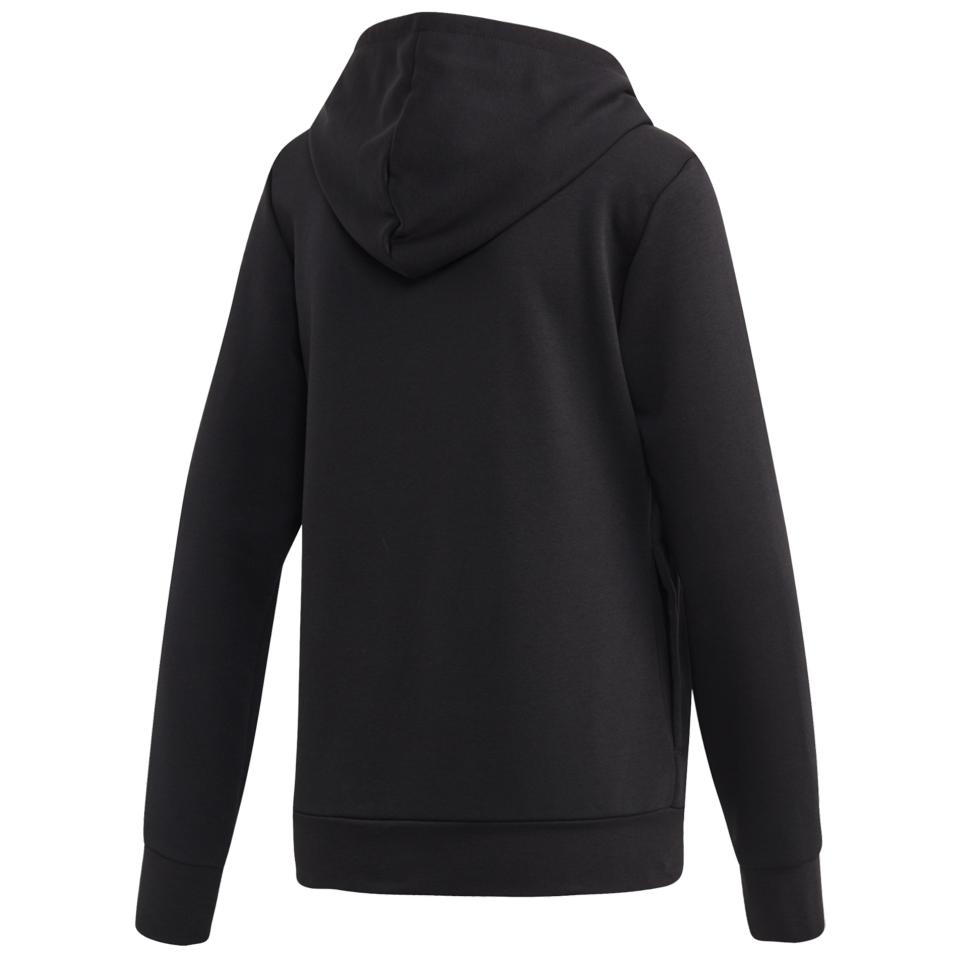 Adidas Women's Essentials Linear Pullover Hoodie Black
