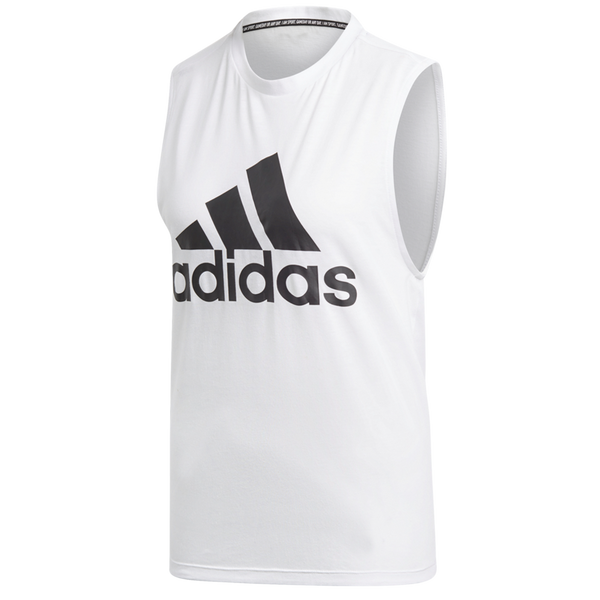 Adidas Women's Must Haves Badge of Sport Tank Top White