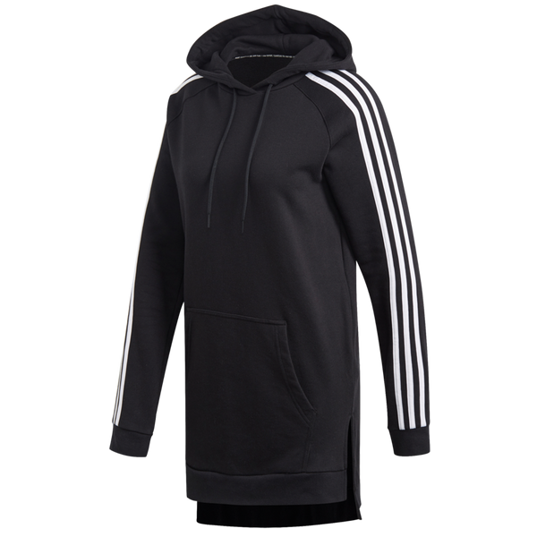 Adidas Women's Must Haves 3-Stripes Over-Head Hoodie Black