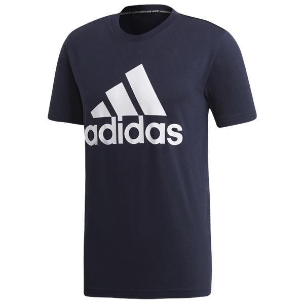 Adidas Men's Must Haves Badge of Sport Tee Legendary Ink