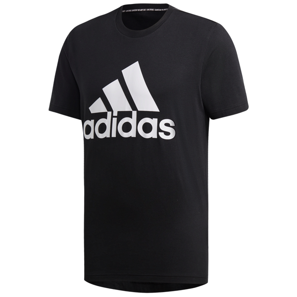 Adidas Men's Must Haves Badge of Sport Tee Black