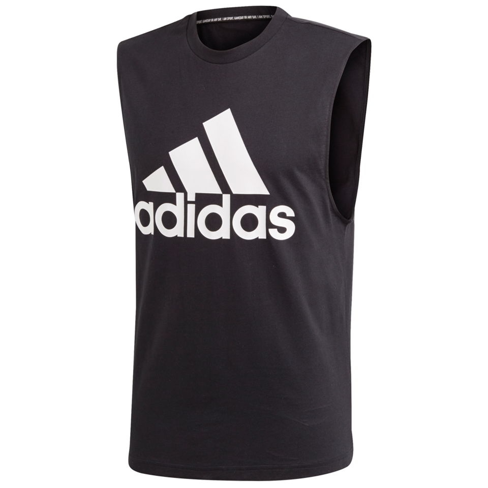 d18ac30d767b Adidas Men's Must Haves Badge of Sport Tank Top Black
