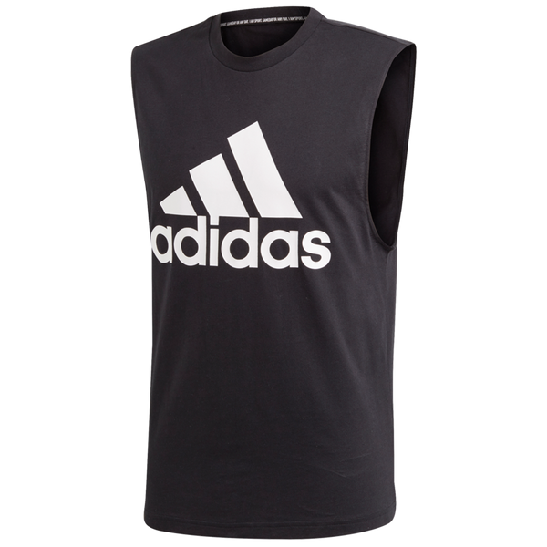 Adidas Men's Must Haves Badge of Sport Tank Top Black