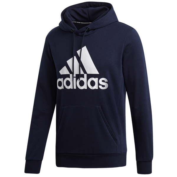 Adidas Men's Must Haves Badge of Sport Hoodie Legendary Ink