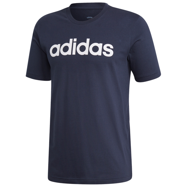 Adidas Men's Essentials Linear Logo Tee Legendary Ink