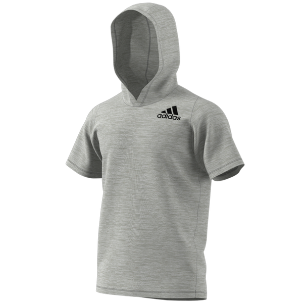 Adidas Men's FreeLift All-American Hoodie Tee Grey