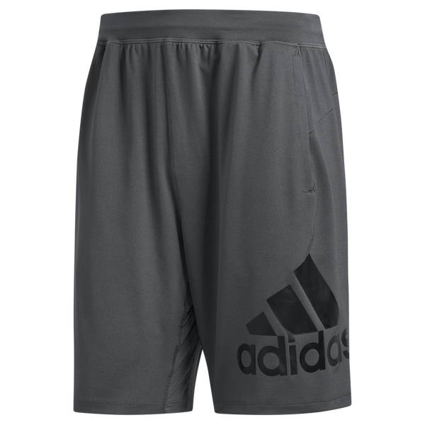 Adidas Men's 4KRFT Sport Badge of Sport Shorts Grey