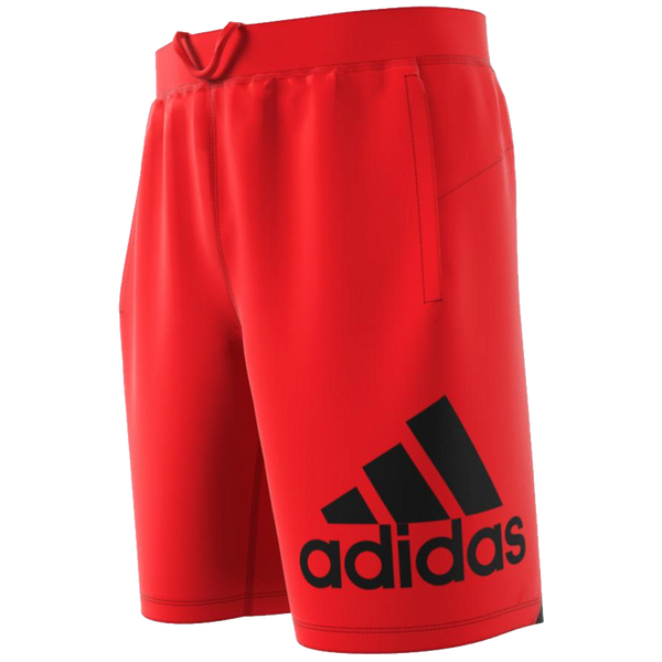 Adidas Men's 4KRFT Sport Badge of Sport Shorts Active Red