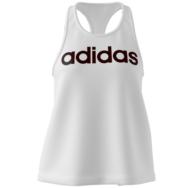 Adidas Women's Design 2 Move Logo Tank Top White