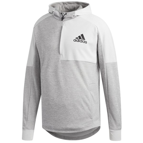 Adidas Men's Team Issue Hoodie White DU2555