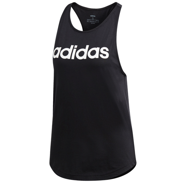 Adidas Women's Essentials Linear Tank Top Black