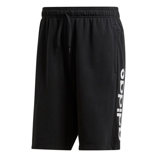 Adidas Men's Essentials Linear French Terry Shorts Black