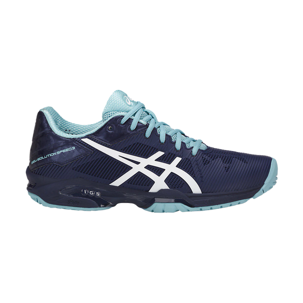 Asics Women's Gel Solution Speed 3 Indigo Blue