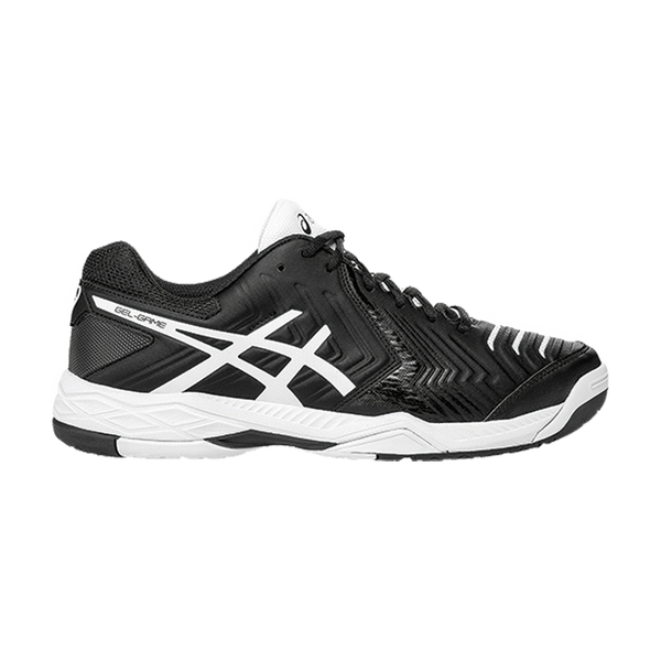 Asics Men's Gel Game 6 Black/White