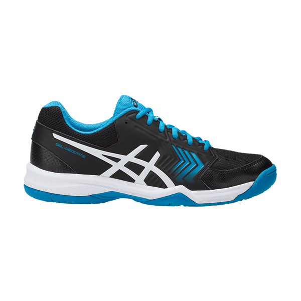 Asics Men's Gel Dedicate 5 Black/Hawaii Blue