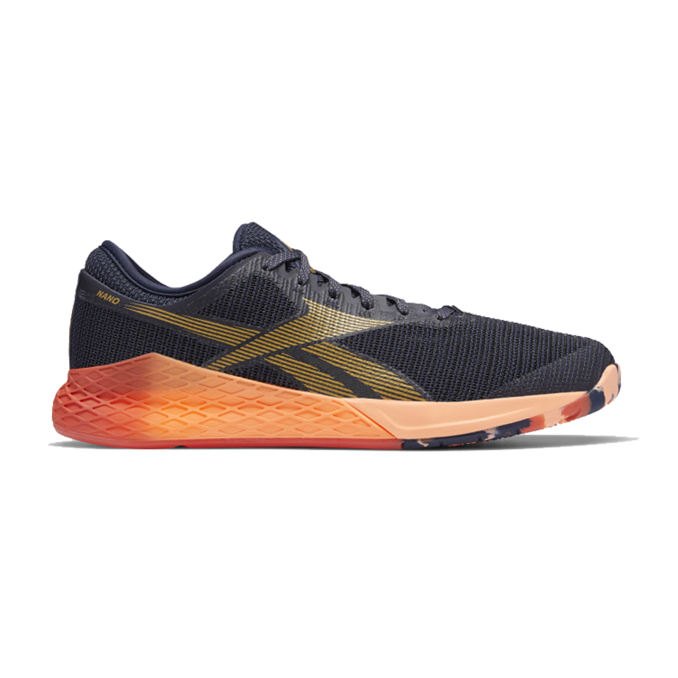 Reebok Men's Nano 9.0 Black/Orange