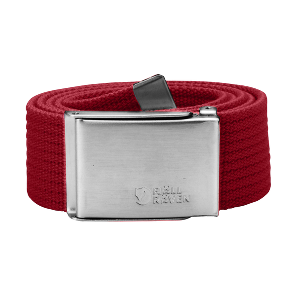 Fjallraven Canvas Belt Red