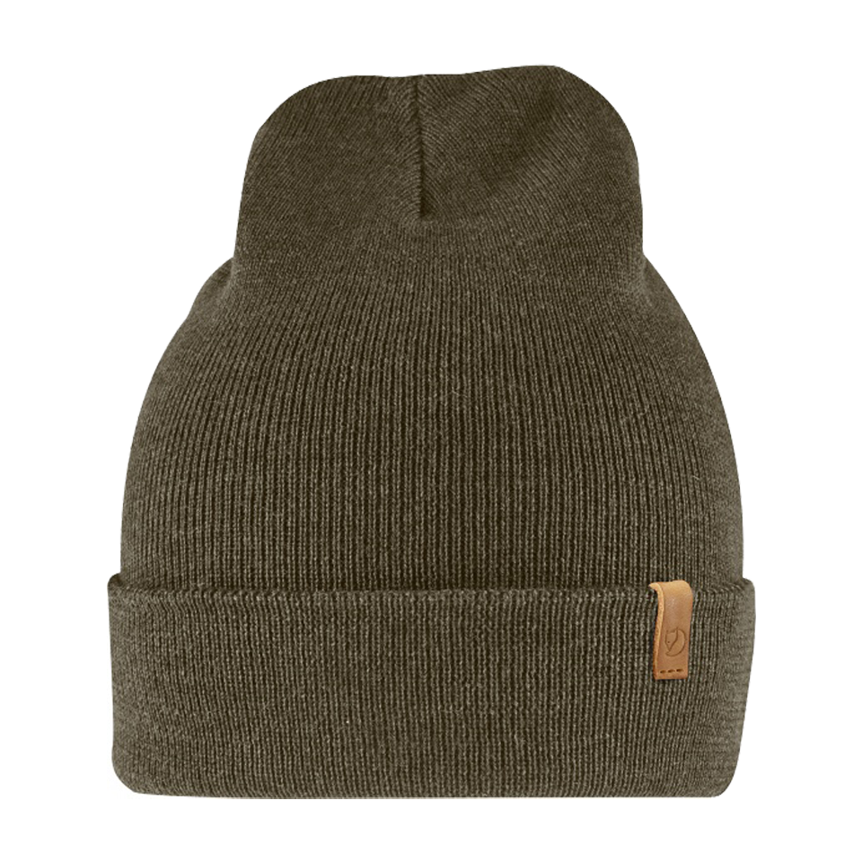 Fjallraven Classic Knit Hat Dark Olive