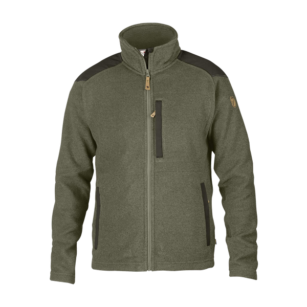 Fjallraven Men's Buck Fleece Jacket Laurel Green