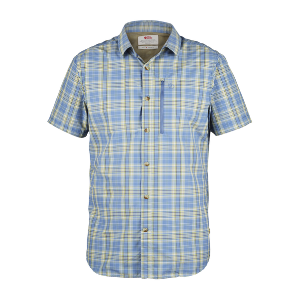Fjallraven Men's Abisko Hike Shirt Blue Ridge