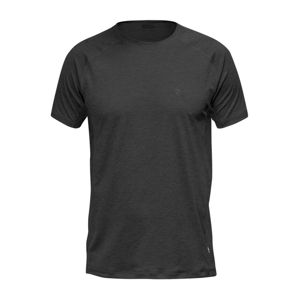 Fjallraven Men's Abisko Vent Tee Dark Grey