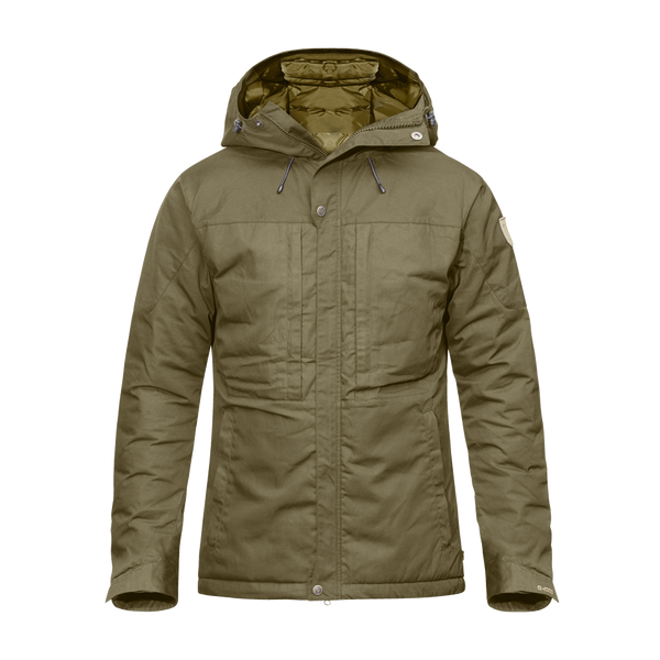 Fjallraven Men's Skogso Padded Jacket Insulated Tarmac/Dark Olive