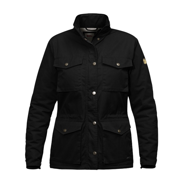 Fjallraven Women's Raven Winter Jacket Black