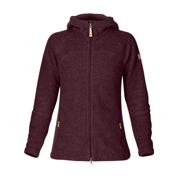 Fjallraven Women's Kaitum Fleece Dark Garnet