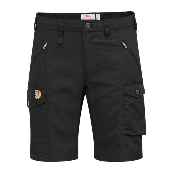Fjallraven Women's Nikka Short Curved Black