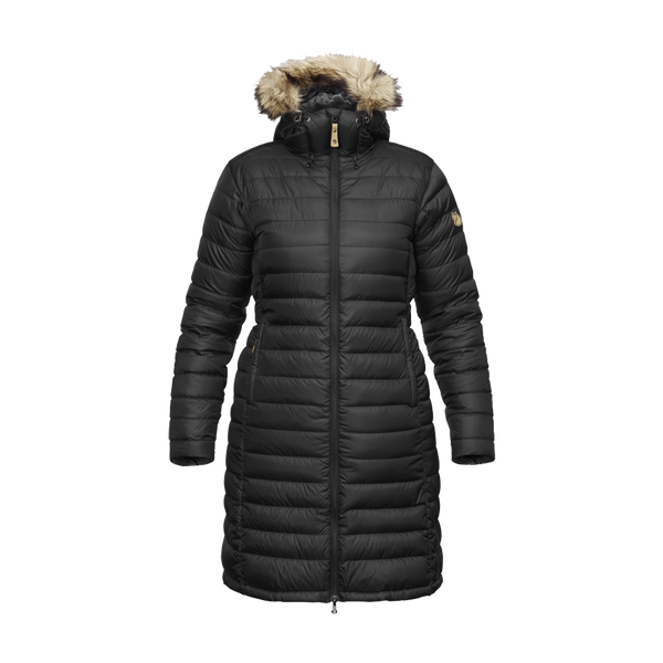 Fjallraven Women's Ovik Down Parka Black