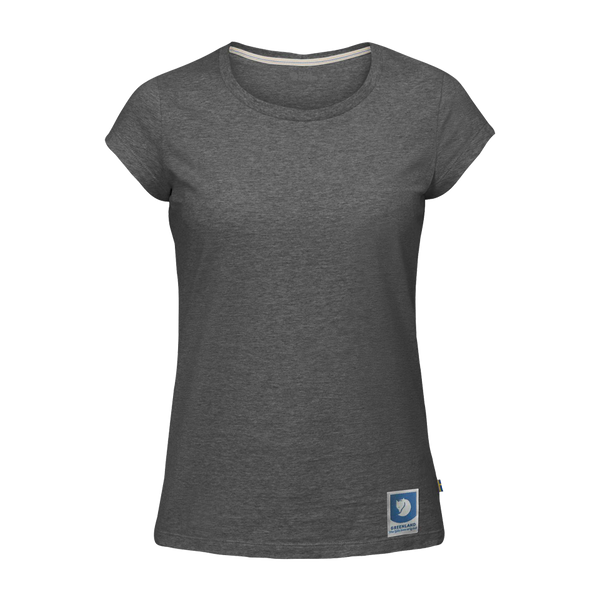 Fjallraven Women's Greenland Tee Dark Grey