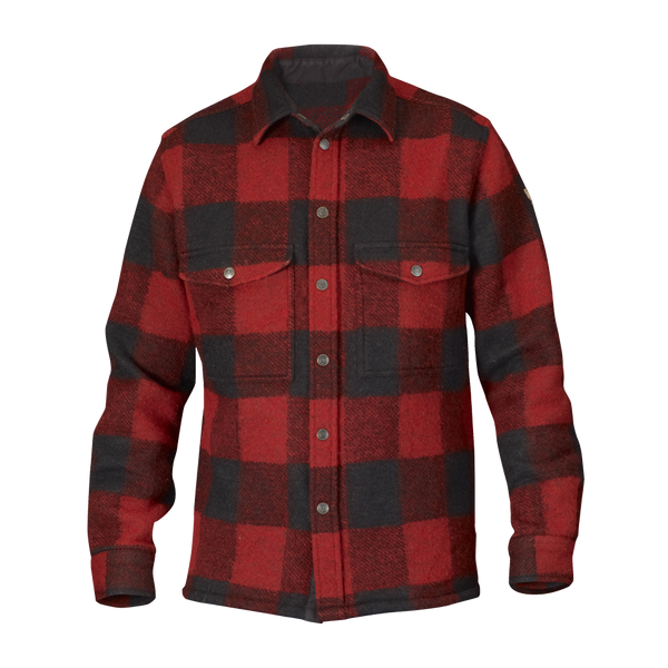 Fjällräven Men's Canada Shirt Red