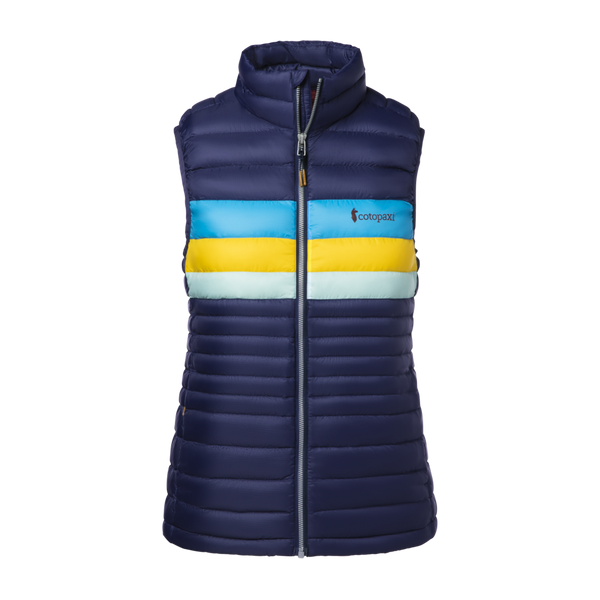 Cotopaxi Women's Fuego Down Vest Maritime Stripes