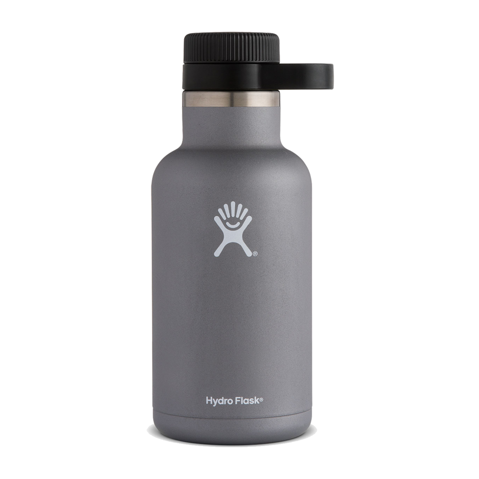 Hydro Flask 64oz Beer Growler Graphite