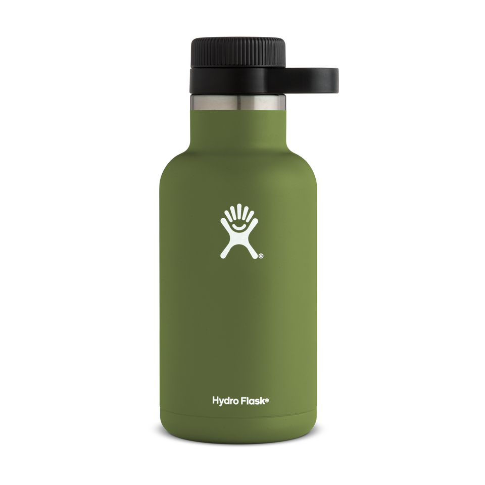 Hydro Flask 64oz Beer Growler Olive