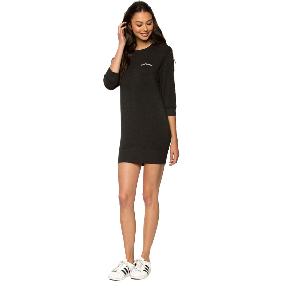 Spiritual Gangster Women's Good Karma Dress Black