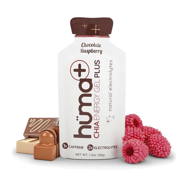 Huma Energy Gel Plus Chocolate Raspberry