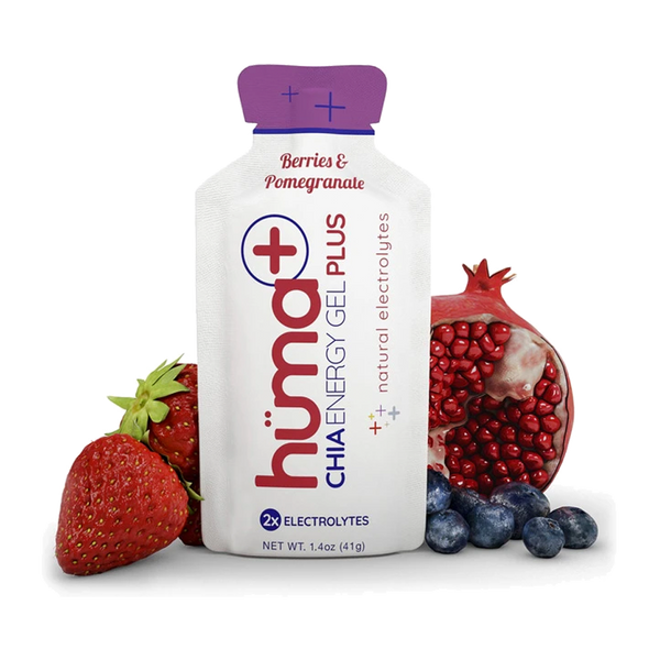 Huma Energy Gel Plus Berries & Pomegranate